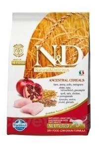 N&D LG CAT Neutered Chicken & Pomegranate 5 kg