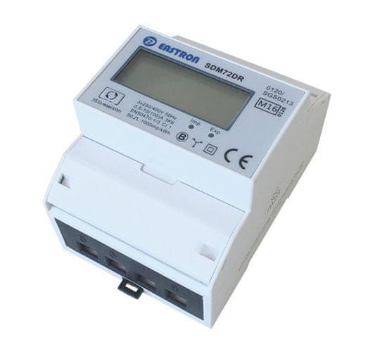 Eastron Třífázový digitální elektroměr Eastron SDM72DR