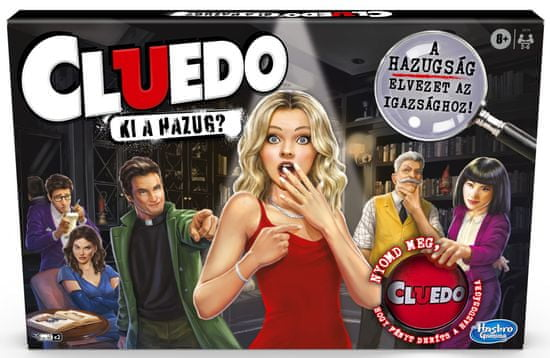 HASBRO Cluedo Liars Edition - HU