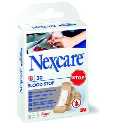 """3M Náplast na zastavení krvácení """"Nexcare Blood Stop"""", 30ks/balení"""