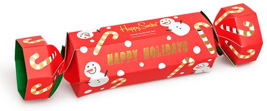 Happy Socks dárková krabička ponožky Kids Holiday Socks Gift Set