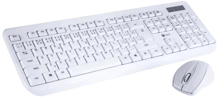 C-Tech WLKMC-01W, CZ/SK, bílá (WLKMC-01W)