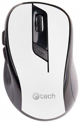 C-Tech WLM-02, černá/bílá (WLM-02W)