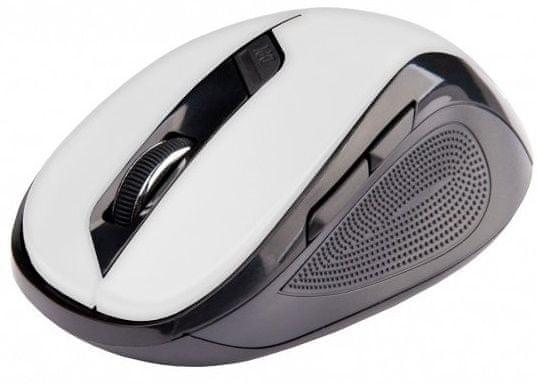 C-Tech WLM-02, černá/bílá (WLM-02W) - zánovní