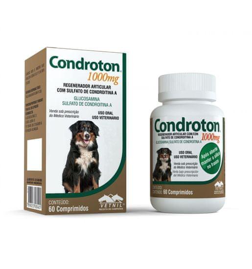 Vetnil Condroton za sklepe in kosti 1000, 60 tablet