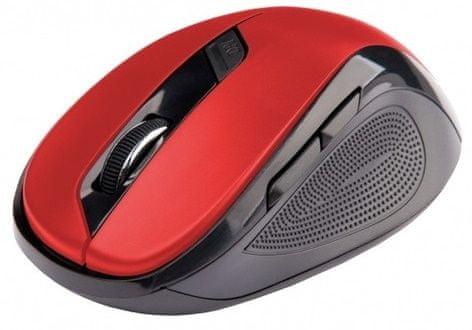 C-Tech WLM-02, černá/červená (WLM-02R)