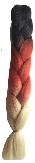 Vipbejba Lasni podaljški za pletenje kitk, C16 heart love