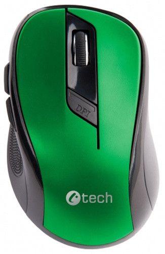 C-Tech WLM-02, černá/zelená (WLM-02G)