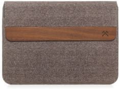 WOODCESSORIES EcoPouch Walnut/Cotton MacBook 11 Air, 13 Air, 13 Pro, 13 Pro Ret, 13 Pro Touchbar eco255
