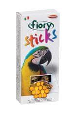 Fiory semenska palčka za velike papige, med, 120 g