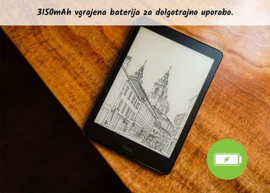 Onyx Boox Nova 2 e-bralnik, 3GB/32GB, Wi-Fi, črn