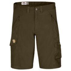 Fjällräven Abisko Shorts, sötét zöld, 48
