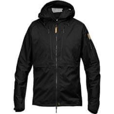 Fjällräven Keb Eco-Shell Jacket, črna, s