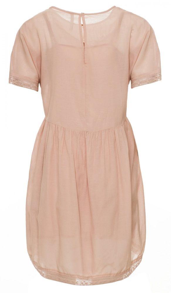 Pepe Jeans dámské šaty Milena PL952672 L růžová