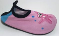V+J dievčenská obuv do vody 324304 / MIX 28/29 ružová