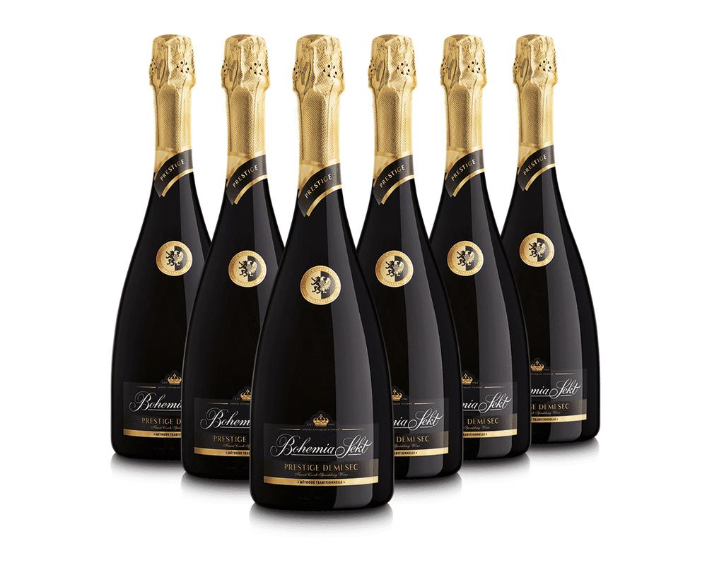 Bohemia Sekt Prestige demi sec 0,75 - 6 lahví