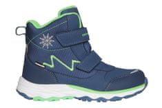 ALPINE PRO chłopięce buty zimowe MOKOSHO KBTS261682 33 niebieskie