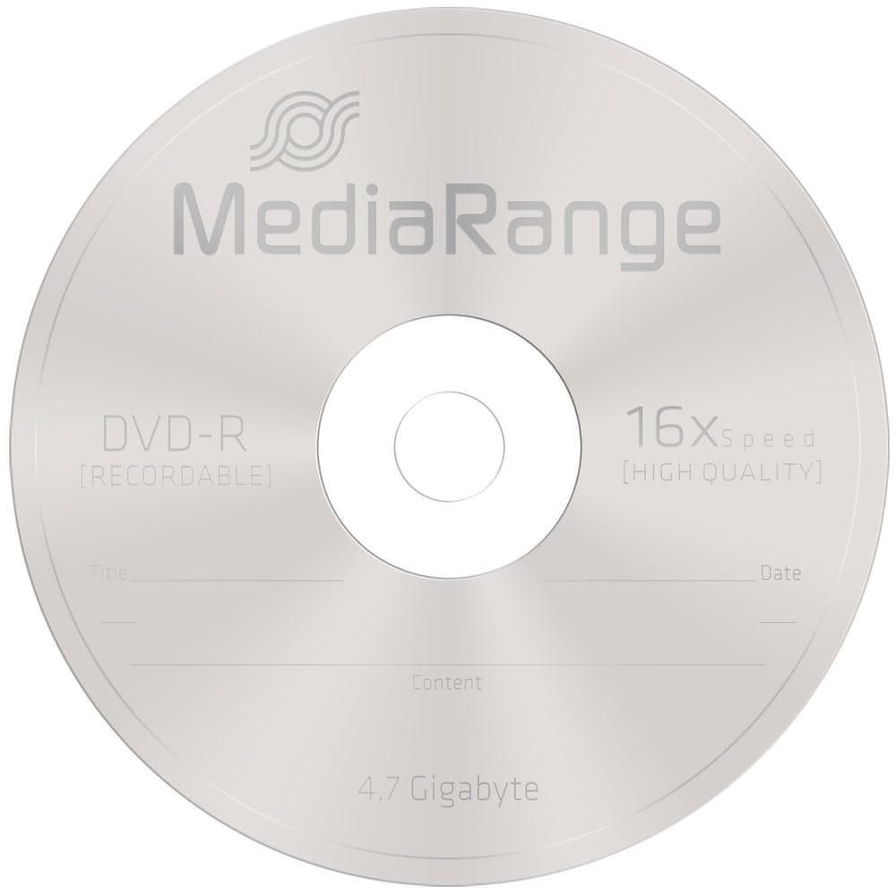 MediaRange DVD-R 4,7GB 16x spindl 25ks (MR403)