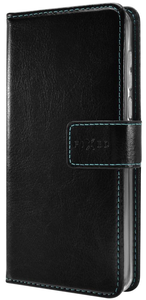 FIXED Pouzdro typu kniha Opus pro Xiaomi Mi Note 10 Lite FIXOP-533-BK, černé