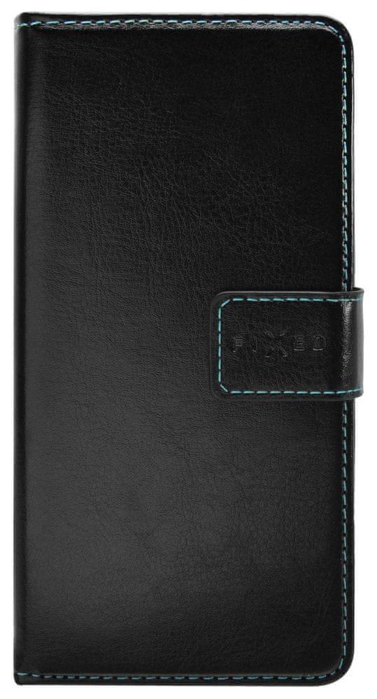 FIXED Pouzdro typu kniha Opus pro Huawei Y5p FIXOP-550-BK, černé