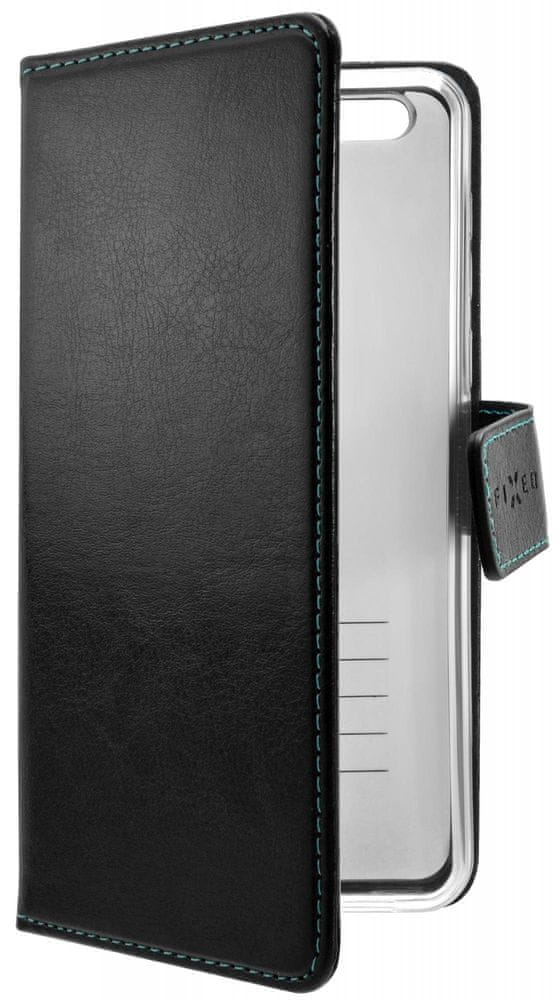 FIXED Pouzdro typu kniha Opus pro Samsung Galaxy M21 FIXOP-537-BK, černé