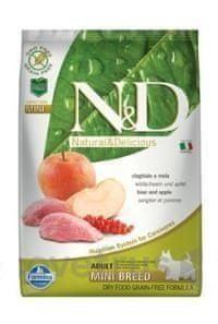 N&D GF DOG Adult Mini Boar & Apple 7 kg