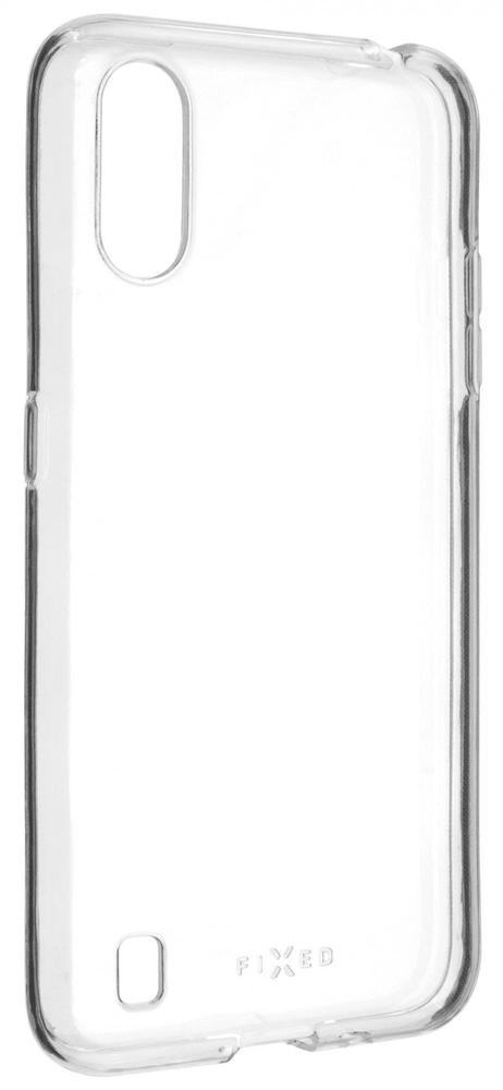 FIXED Ultratenké TPU gelové pouzdro Skin pro Samsung Galaxy A01, 0,6 mm FIXTCS-546, čiré