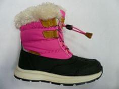 ALPINE PRO dziewczęce buty zimowe AVETO KBTS267452G 33 różowe