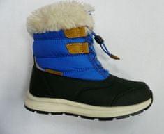 ALPINE PRO chłopięce buty zimowe AVETO KBTS267682G 33 niebieskie