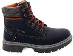 ALPINE PRO dziecięce buty zimowe FEWRO KBTS268602G 33 niebieskie