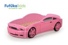 Futuka Kids Dětská autopostel Light 3D - růžová