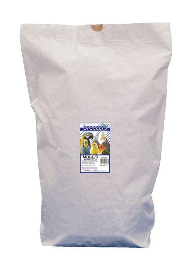 Fiory Breeder Mix semen za velike papige, 15 kg