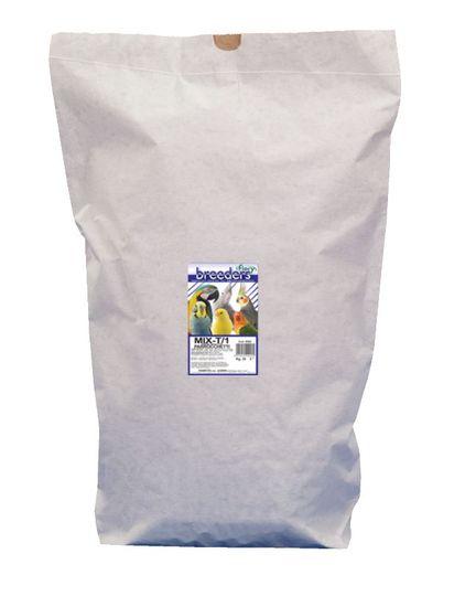 Fiory Breeder Mix semen za srednje papige, 25 kg