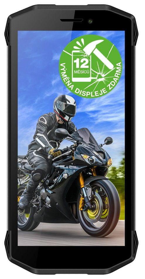 Evolveo StrongPhone G5, 16GB/2GB, černý - použité