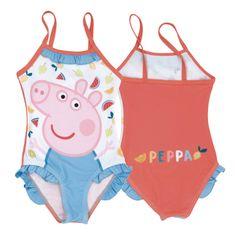 Disney Peppa Pig lány fürdőruha, 98 - 104, piros