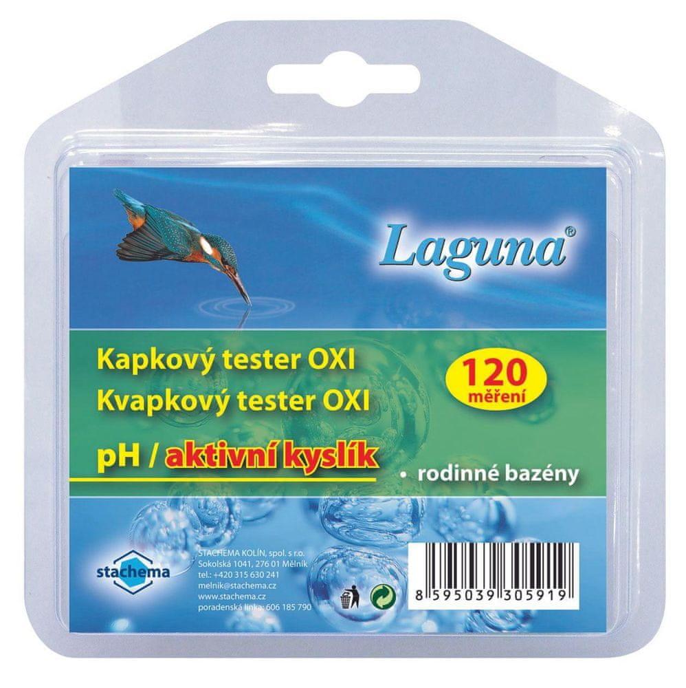 LAGUNA Kapkový tester na pH a aktivní kyslík - 120 měření (OXI)