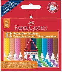 """Faber-Castell Voskovky """"Grip"""", 12 barev, mazatelné"""