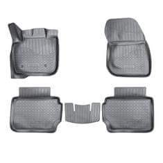 Unidec Gumové autokoberce přesné 3D Ford Mondeo IV (MK5) (2014)