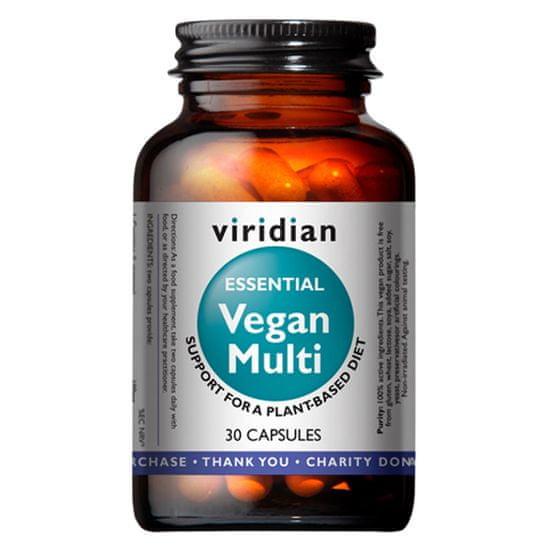 VIRIDIAN nutrition Vegan Multi 30 kapslí