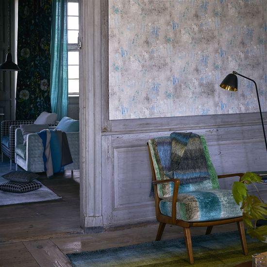 Designers Guild Ozadje IMPASTO - MASLICA, kolekcija TULIP STELLATA