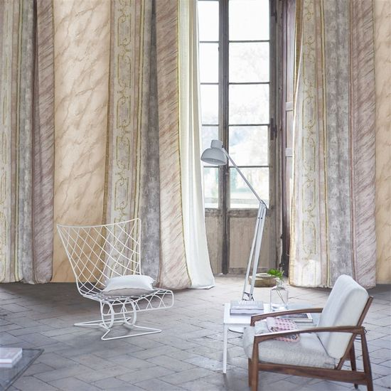 Designers Guild Ozadje CARRARA GRANDE - IVORY, kolekcija FOSCARI FRESCO