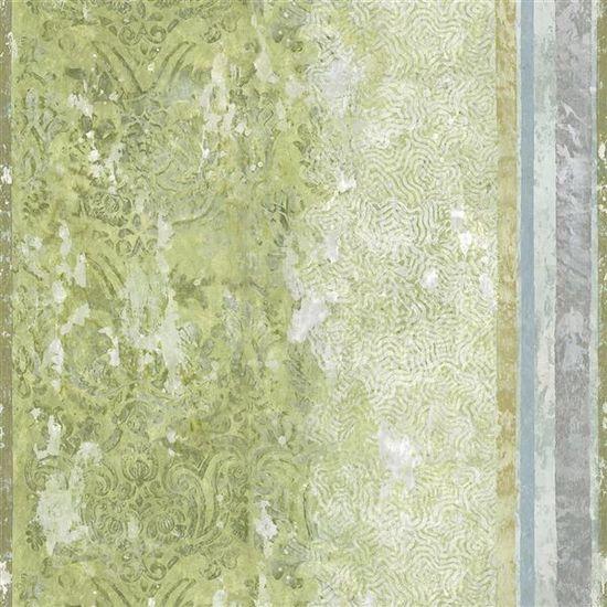Designers Guild Ozadje LA ROTONDA SCENE 1 OLIVE, kolekcija FOSCARI FRESCO