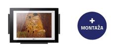 LG ArtCool Gallery stenska klimatska naprava, A09FT + montaža - Odprta embalaža