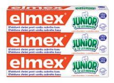 Elmex Zubní pasta Junior 75 ml tripack