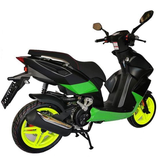 CLS MOTORCYCLE Skútr CLS PISTA 125 ccm černá BiLED