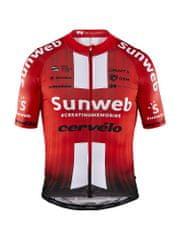 Craft Sunweb EBC Aerolight kolesarska majica, S, rdeča