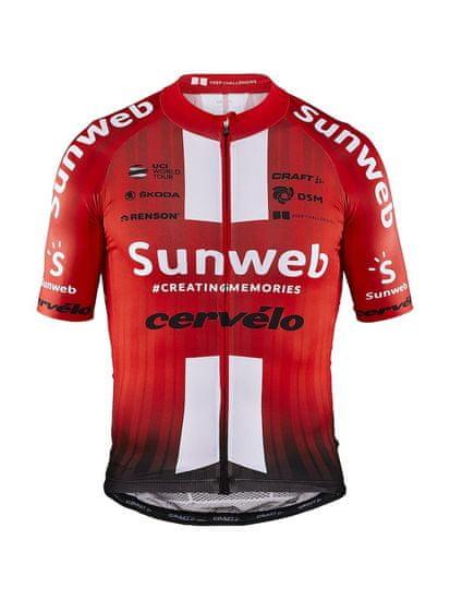 Craft Sunweb EBC Aerolight kolesarska majica