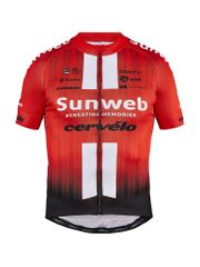 Craft Sunweb Replica SS kolesarska majica, L, rdeča