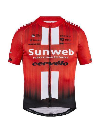 Craft Sunweb Replica SS kolesarska majica