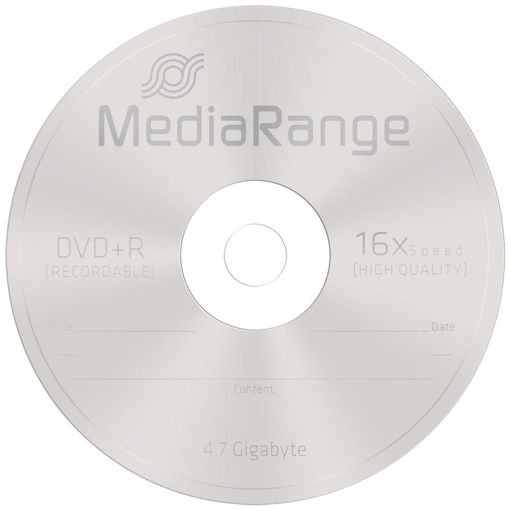 MediaRange DVD+R 4,7GB 16x spindl 10ks (MR453)
